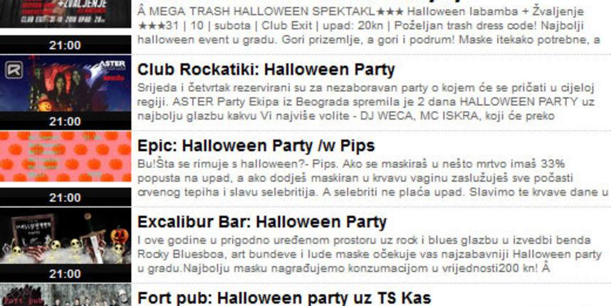 Halloween u Osijeku 2018. [NAJAVE PARTYJA]