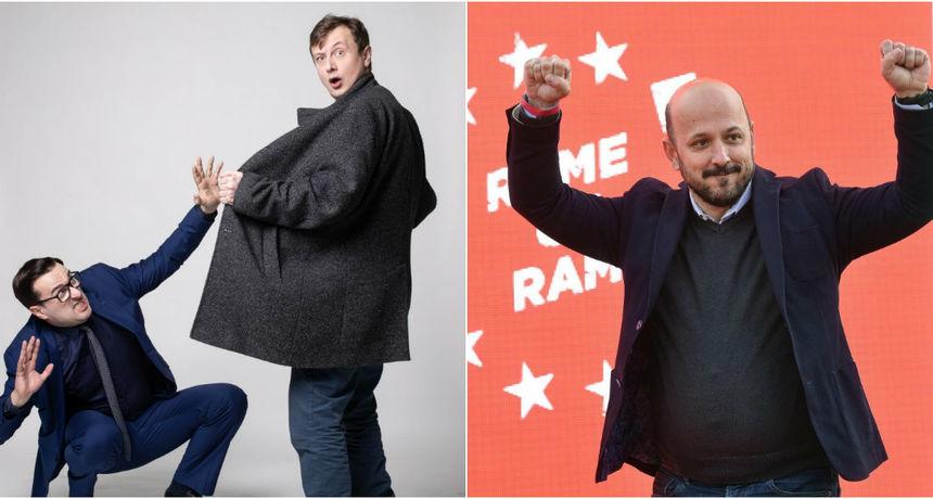 Roštanje kandidata: Ovako su se komičari narugali Grmoji, Marasu i Tomaševiću