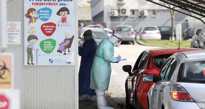 U Hrvatskoj 1396 novooboljelih, preminulo 46 osoba