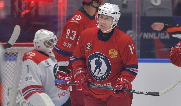 Vladimir Putin hokej