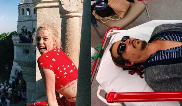 Amber Heard i Johhny Depp