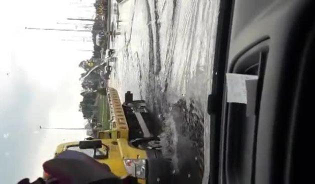 Cesta između Peveca i Bauhausa u Varaždinu nakon kiše (thumbnail)
