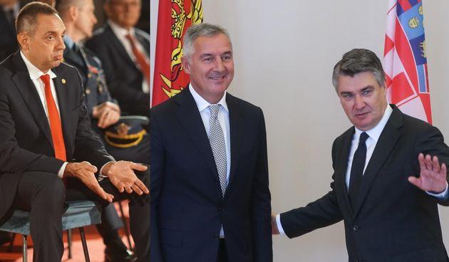 Aleksandar Vulin/ Milo Đukanović i Zoran Milanović
