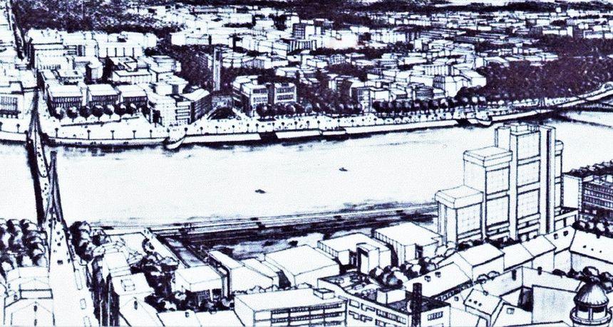 Skidamo prašinu: Ovako su arhitekti prije 50 godina zamislili da će Osijek izgledati 2020. godine
