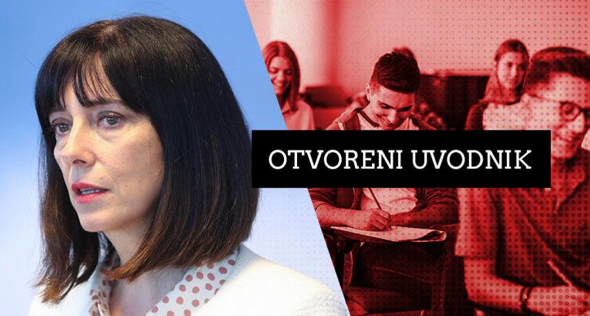 'Sveučilišna autonomija je izgovor za autokraciju' piše za RTL.hr Blaženka Divjak i objašnjava tko je zaustavio novi zakon