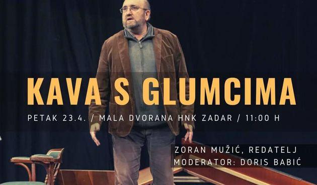 Kava s glumcima: Zoran Mužić o novoj predstavi