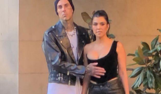 Kourtney Kardashian i Travis Barker