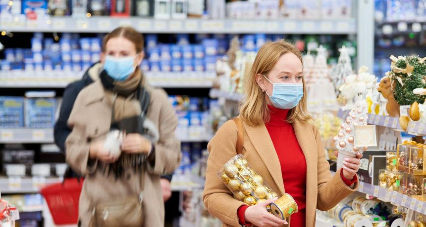 Božićni shopping: Kako sam u 10 minuta ispala antikoronaš i 'nosač brnjice'. Pa poludjela