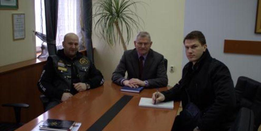 Dogovorena suradnja grada Belog Manastira, PU OB i udruge 'Karavana za život-bikeri na cesti'