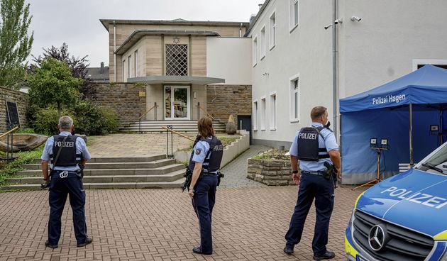 napad na njemačku sinagogu