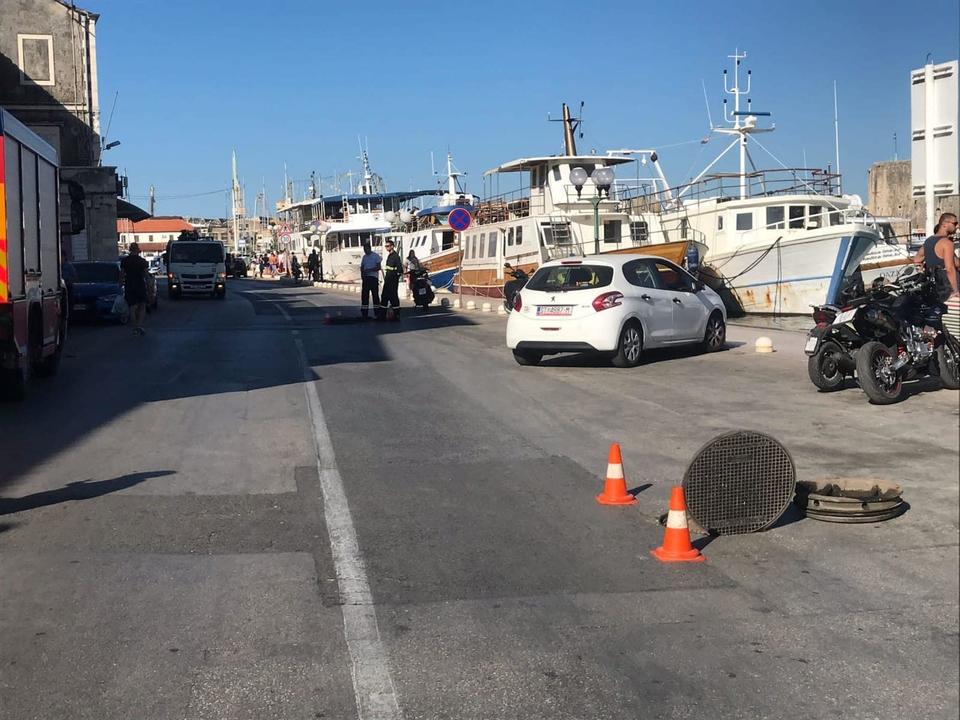U Trogiru eksplodirali šahtovi