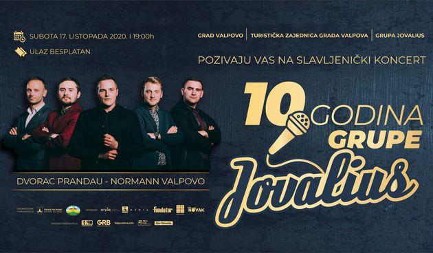 Valpovo: Koncert 10 godina grupe Jovalius