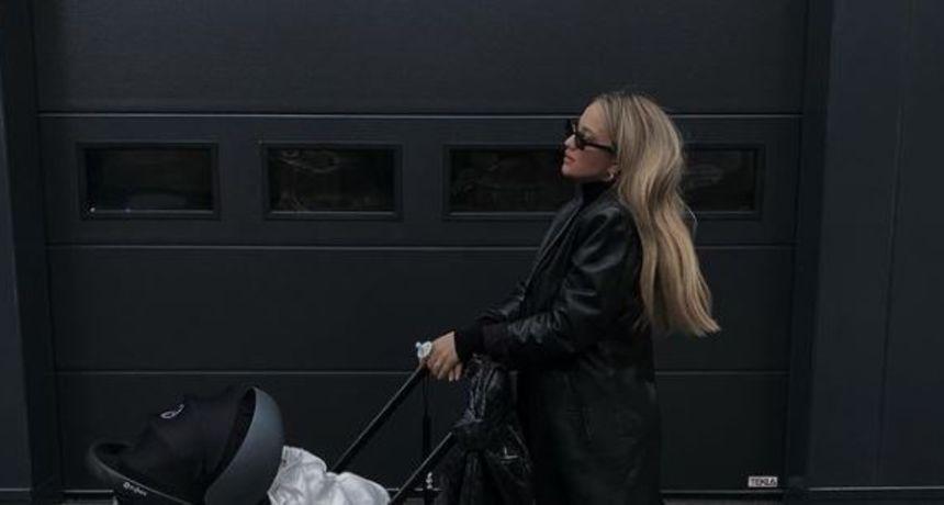 Izabel Kovačić prošetala sina u 'Spice Girls' čizmama iz kojih se ne skida