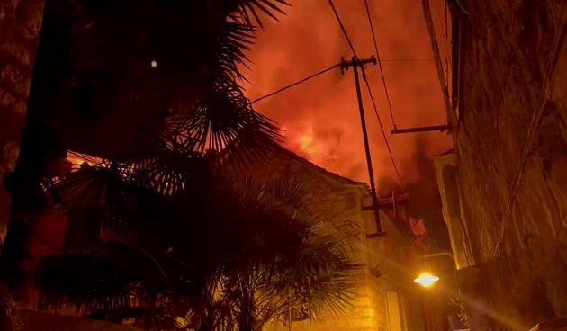Požar u Trogiru (thumbnail)