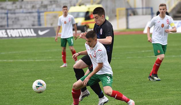 Mladi hrvatski nogometaši na Čavleku svladali vršnjake Bugarske sa 3:0 - sutra ogled s Makedoncima