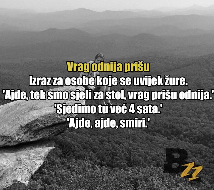 'Ni pet ni šest, on uze pešes': 30 neobjašnjivih izraza iz svih dijelova Hrvatske