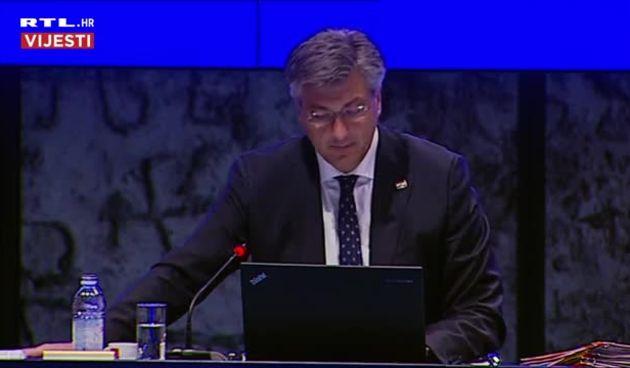 Uvodno obraćanje premijera Plenkovića s Vlade (thumbnail)