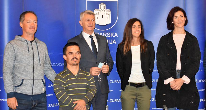 Božidar Longin primio srebrne jediličarke i atletičara Gašpara