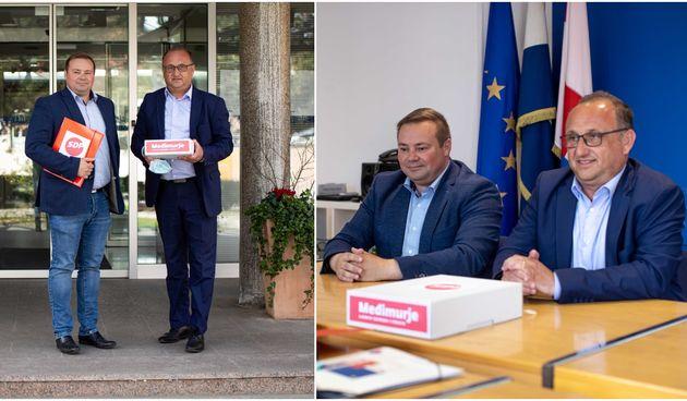 Mario Medved predao potpise kandidature za župana Međimurske županije