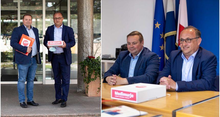 KANDIDAT ZA ŽUPANA Mario Medved predao potpise kandidature za župana Međimurske županije