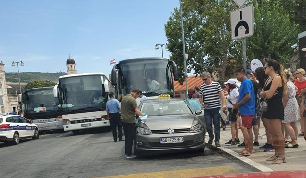 Dubrovnik, taksi, uber, sukob