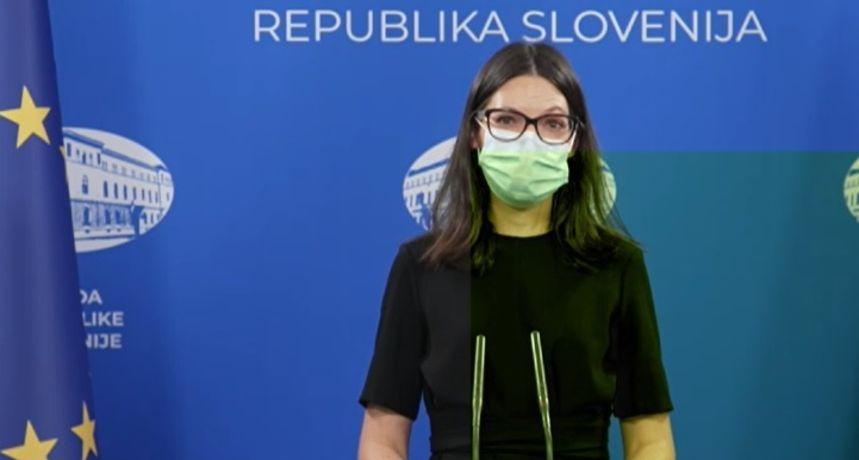Glasnogovornica slovenske Vlade: 'Danas je zadnji dan epidemije koronavirusa'