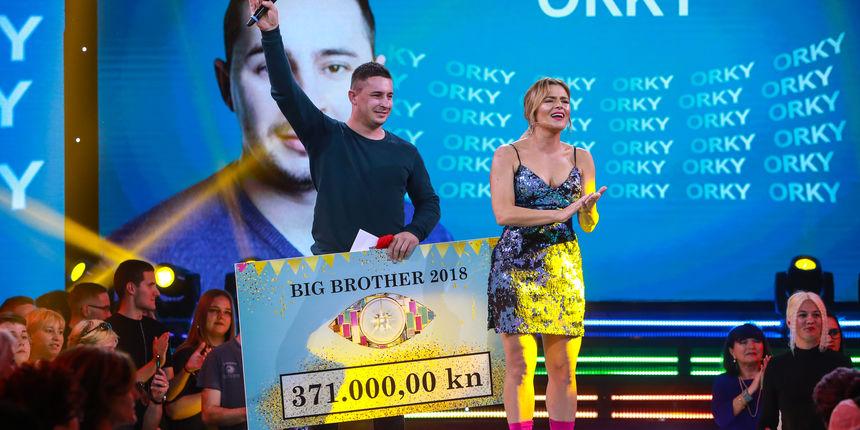 Orky je pobjednik Big Brother Hrvatska 2018.
