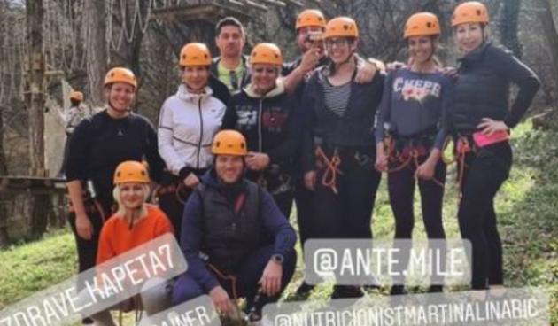 FOTO - Marica proslavila rođendan sa ekipom iz 'Života na vagi': Proveli ludi vikend u adrenalinsku parku pa se vratili u Staru Kapelu!