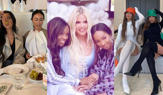 Kardashian-Jenner sestre i njihove prijateljice