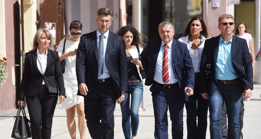 POTPORA SVOJIMA Andrej Plenković stiže u Čakovec kako bi podržao HDZ-ove kandidate na izborima
