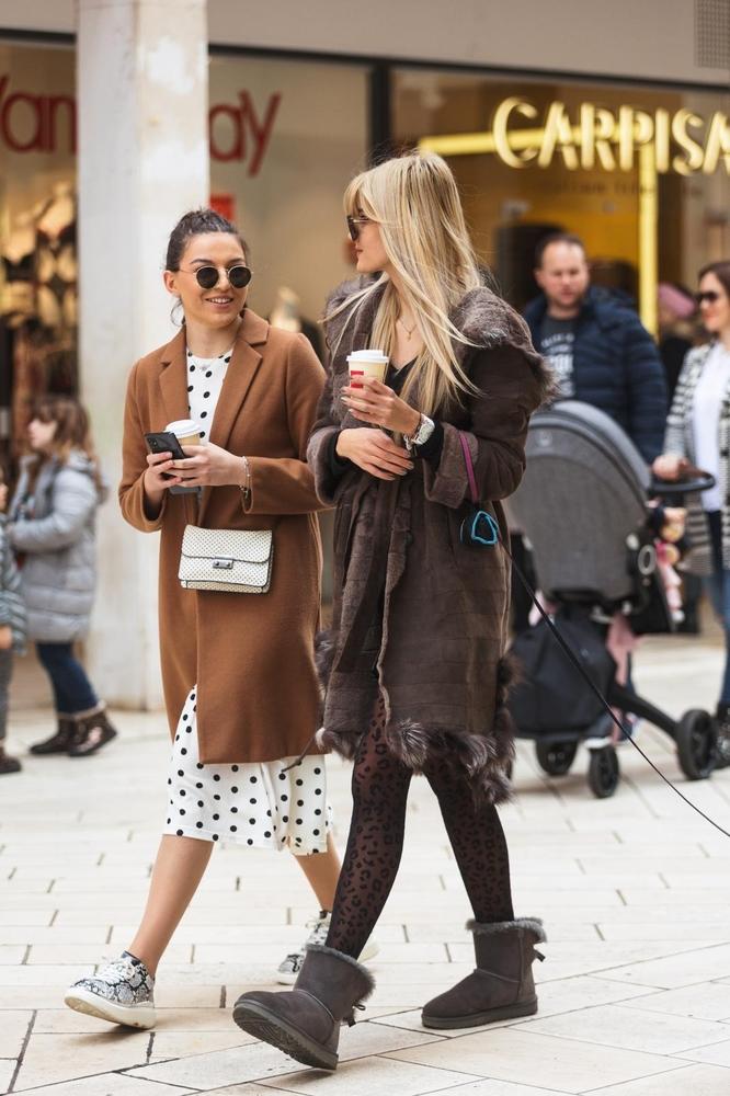Moda na zadarskim ulicama 20. veljače 2021.