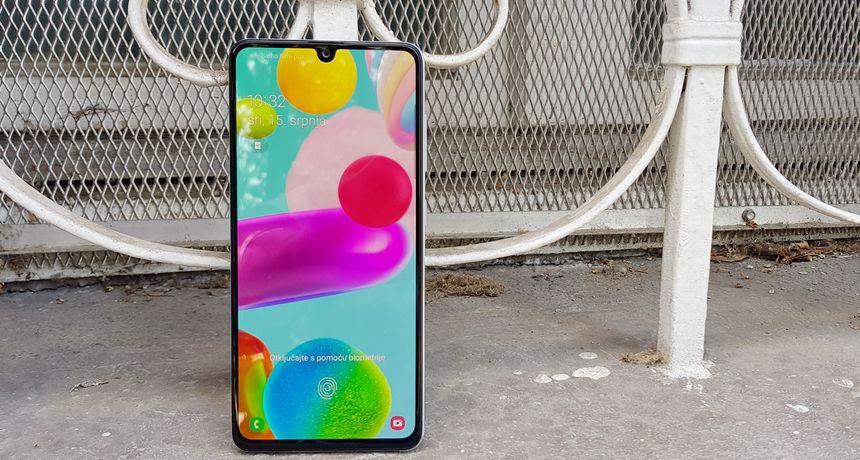 Recenzija: Samsung Galaxy A41 - relativno mali pametni telefon, ali ne s najmanjim zaslonom