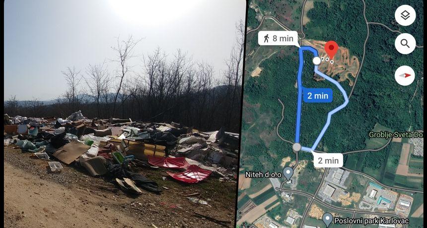 Na Logorištu, kod Poslovnog parka na putu prema motocross stazi niknuo divlji deponij: Ima svega pa i otpadnih ulja, kemikalija i životinjskih lešina