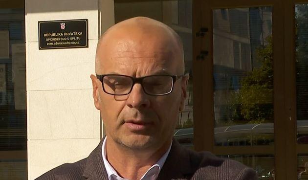Goran Vučetić, odvjetnik osumnjičenog arhitekta