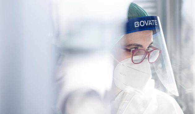 Testiranje koronavirus, ilustracija