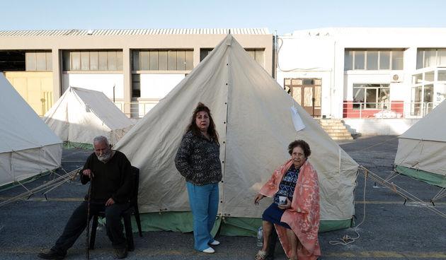 Kreta, potres