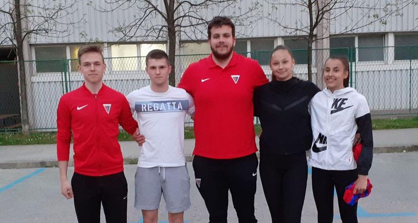 Osječani osvojili tri medalje na Atletskom mitingu u Varaždinu