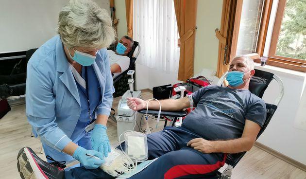 Darivanje krvi, Vrsi