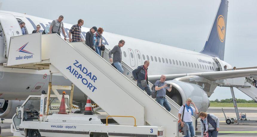 Zadarski aerodrom u kolovozu srušio pretpandemijski rekord