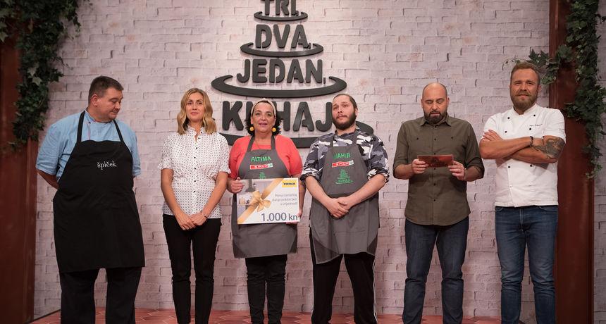 Fatima i Mahir prvi su par osme sezone 'Tri, dva, jedan – kuhaj!' koji je napustio natjecanje!