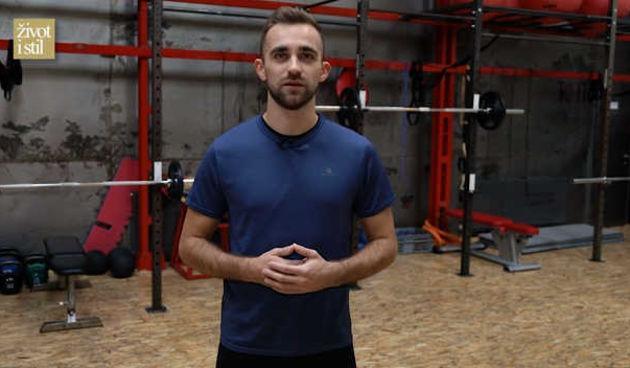 Za sve one koji rade u uredu trener Vedran Spevan pripremio je 6 idealnih vježbi istezanja (thumbnail)