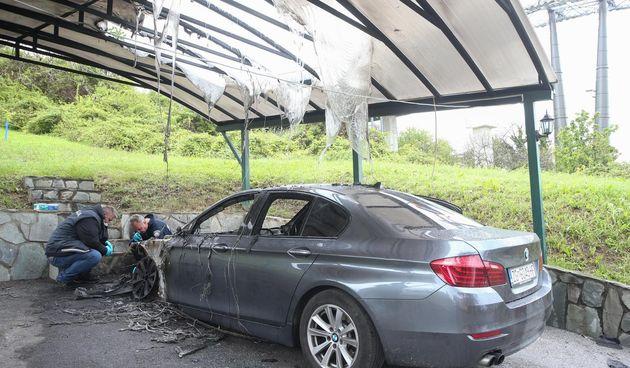 žičara izgorio automobil gračani