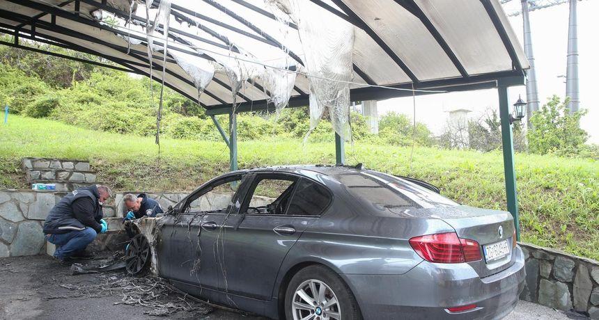Petek: Gospođi koja se jučer požalila na buku zagrebačke žičare, noćas je izgorio automobil