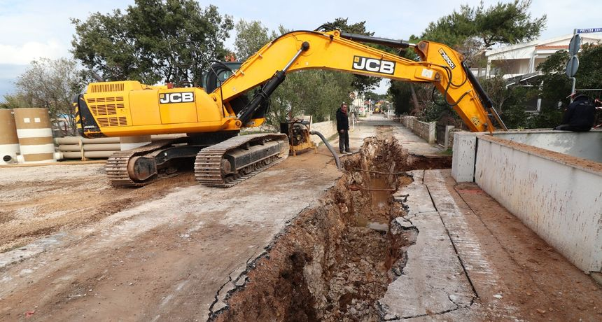 Vir: Gradnja vodovodne i kanalizacijske mreže u naselju Prezida u punom jeku