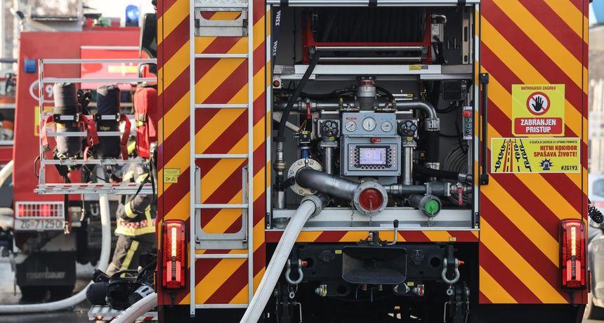 Eksplozija plina u Kaštel Sućurcu! Jedna osoba ozlijeđena, hitno je prevezena u bolnicu