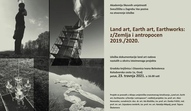 U suradnji s Akademijom likovnih umjetnosti, ozaljska gradska knjižnica domaćin je izložbe land art radova nastalih na vivodinskom području