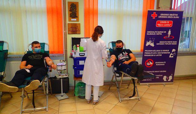 Gradsko društvo Crvenog križa Slunj organiziralo još jednu akciju dobrovoljnog darivanja krvi, odazvalo se 114 darivatelja