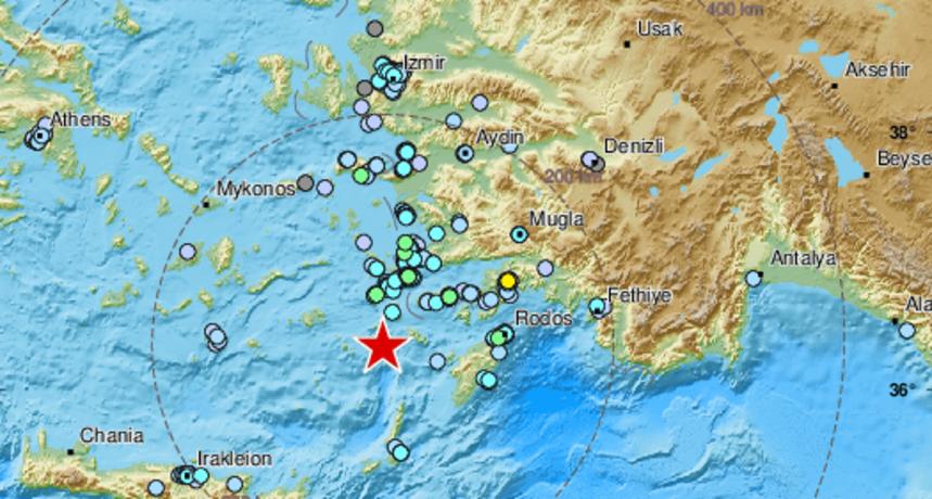 Udar potresa magnitude 5,7 probudio stanovnike jugoistoka Grčke