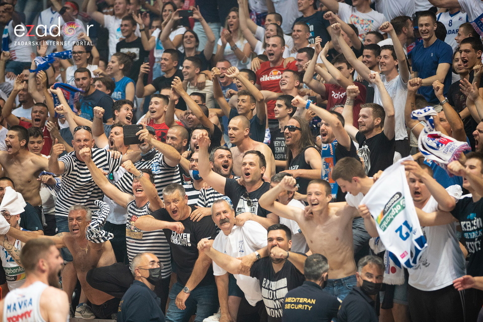 Zadar je prvak - velika fešta u Krešinom domu i u gradu
