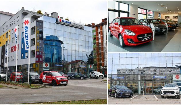 AC BAUMGARTNER Suzuki salon u Varaždinu pozivana upoznavanje baznih, ali i novih modela - 'Swace' i 'Across'